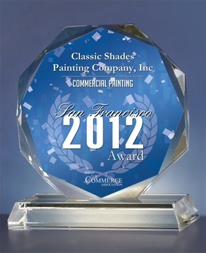 Commercial painting San Francisco award