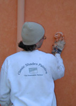 exterior stucco faux painting
