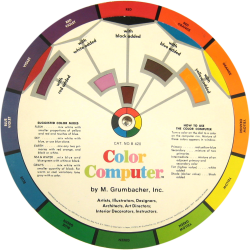 color computer wheel - side b