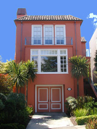 painted house exterior